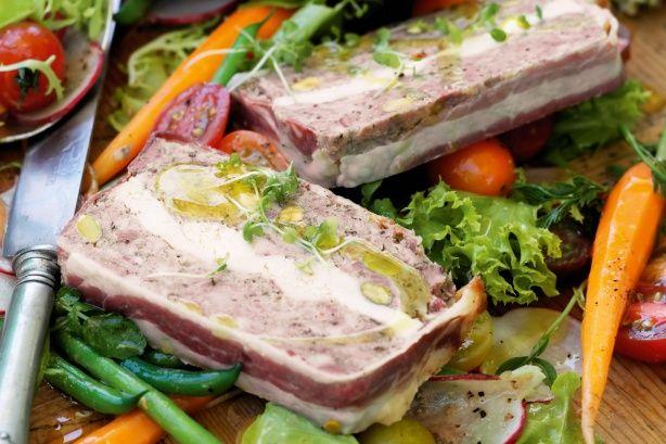 Pork & chicken terrine