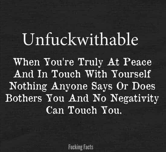 We should all b Unfuckwithable