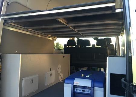 Bed rails from Overland Sprinters | Camper van Sprinthoven ...
