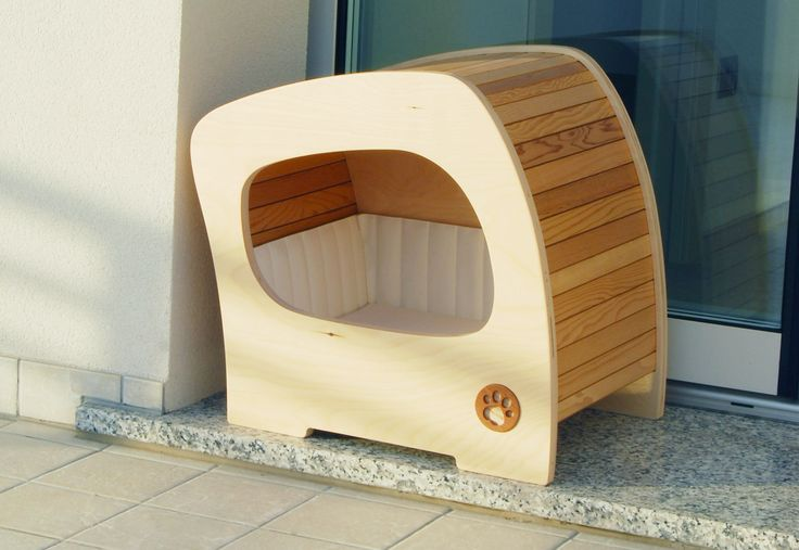 Giomilla: comfortable houses for your pet, and special pieces of design furniture in your home (hand made in italy). Model name: Flux.