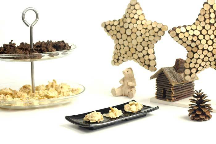 Crockpotting | Rocas de chocolate blanco, almendras y jengibre en Crock Pot | http://www.crockpotting.es