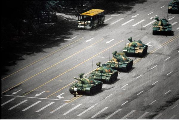 Tank Man - 25 Photos With The Creepiest Backstories 18 Part 2 Best of Web Shrine