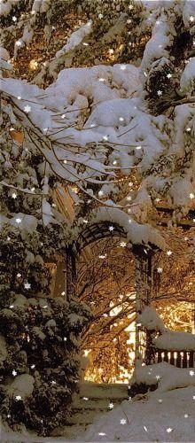 Christmas Light Glow