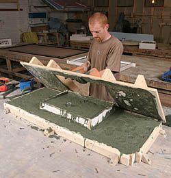 Concrete Countertops, Up Close - Fine Homebuilding Article