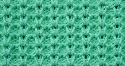 Vertical Honeycomb | Knitting Stitch Patterns