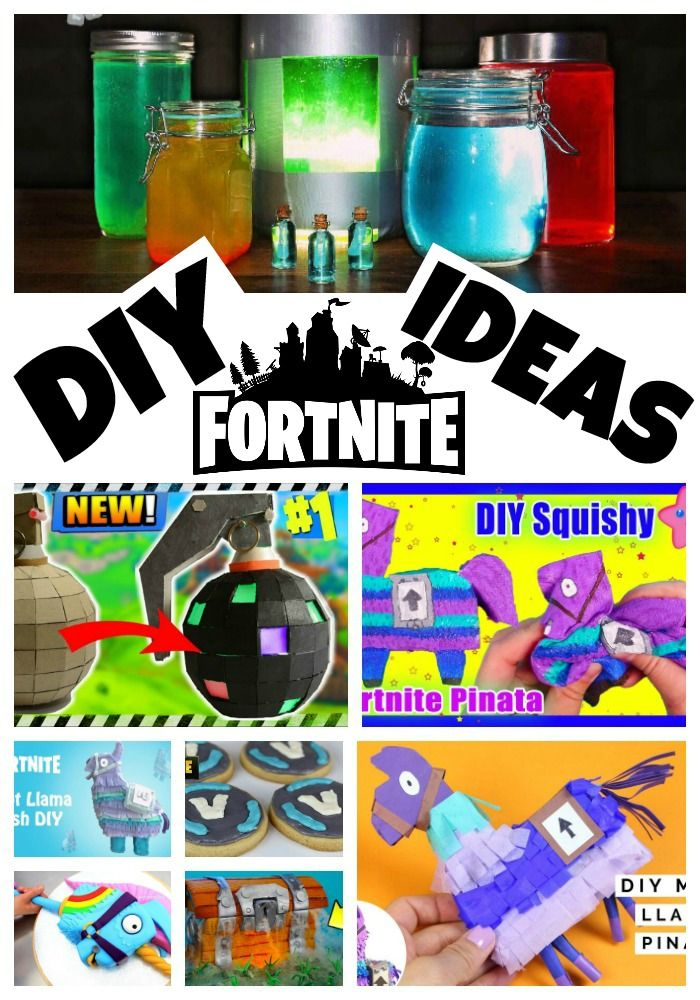 Diy Fortnite Crafts Amp Party Ideas 20 Must Follow Moms