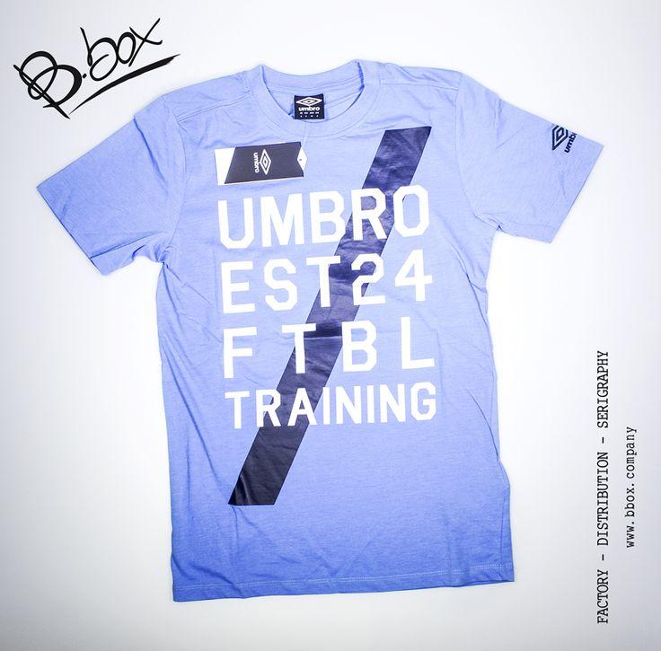 Umbro t-shirt, presso B.box Store #bbox #store #sport #negozio #cento #italy#serigraphy #distribution #factory #umbro #tshirt #moda #fashion