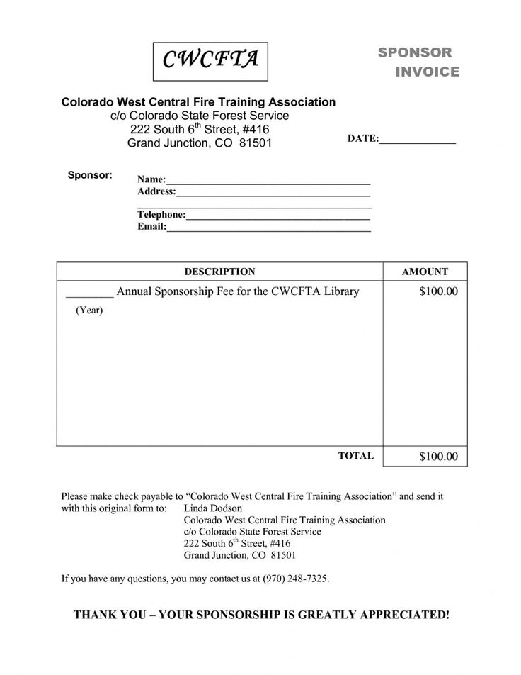 Invoice Form Download Invoice Template For Word  Invoice