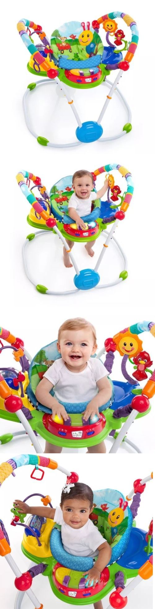 Baby Jumping Exercisers 117032: Baby Einstein Activity Jumper Special Edition, Neighborhood Friends -> BUY IT NOW ONLY: $76.99 on eBay!
