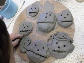 "Early Years Clay Portraits ("",)"