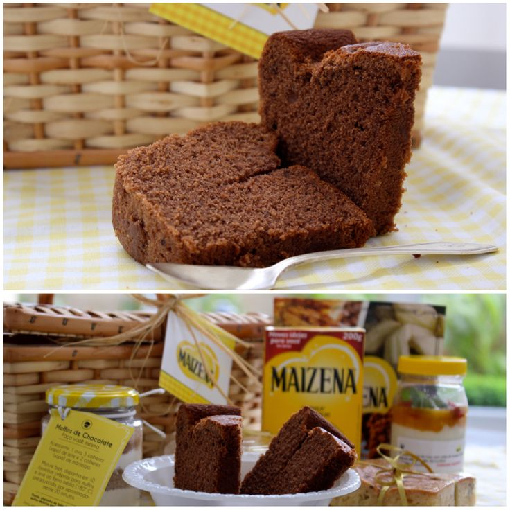 BOLO DE CHOCOLATE MAIZENA Quem é que resiste a um bolinho simples de chocolate? E se ele for fofinho, fofinho? Aí fala sério, não é mesmo! Tem uma dica boa e infalível,  para deixar nossos bolos simples, muito mais macios,  que é adicionar 1 xícara de chá de  maizena, para cada 2 xícaras de de trigo. http://www.montaencanta.com.br/bolo-2/bolo-de-chocolate-maizena/
