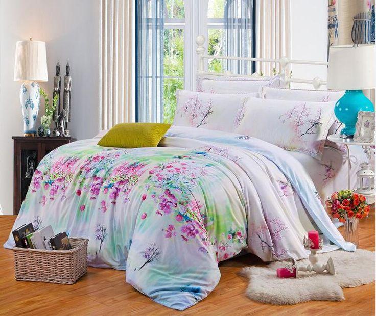 Ucuz 100% doğal Tencel ipek Bahar yaz 4 adet çiçek yatak seti prenses çarşaflar yorgan/nevresim yastık kılıfı yatak takım /B3315, Satın Kalite nevresim takımları doğrudan Çin Tedarikçilerden: 100% doğal Tencel ipek bahar 4 adet çiçek yatak seti prenses çarşaflar yorgan/nevresim yastık yatak takım elbise/b3315&n