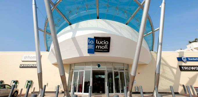 Shopping at La Lucia Mall