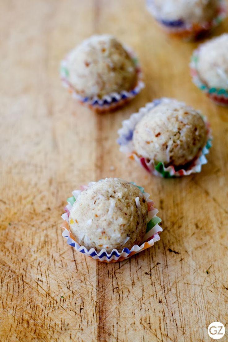 With love from ZOMT: Lemon Cheesecake Amazeballs {Recipe} by Zoe Tattersall