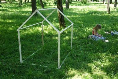 Plenerowy domek dla dzieci (stelaż) // Ossendowski Design