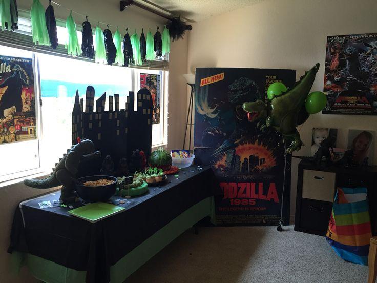 godzilla birthday party.
