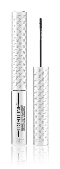 IT Cosmetics Tightline Mascara Primer. Wear it as a primer or alone as your only mascara. The slender brush allows you to get the product down to the root of your lashes to make them appear much, much fuller. Long lasting, doesn't flake.