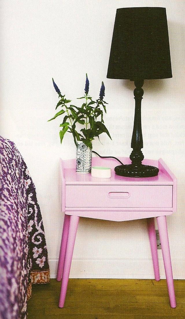 Retro furniture in cool new colour