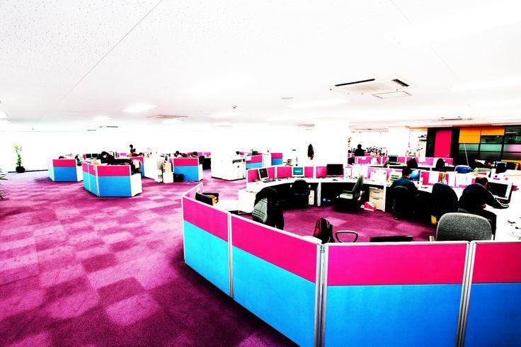 HILLTOP Head Office!! #pink #interior #furniture HILLTOP京都本社の事務所です!!