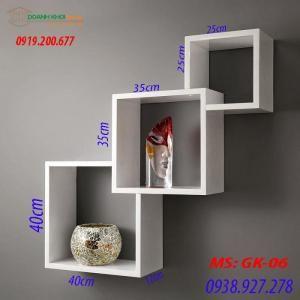 Kệ ô vuông 3 tầng GK-06