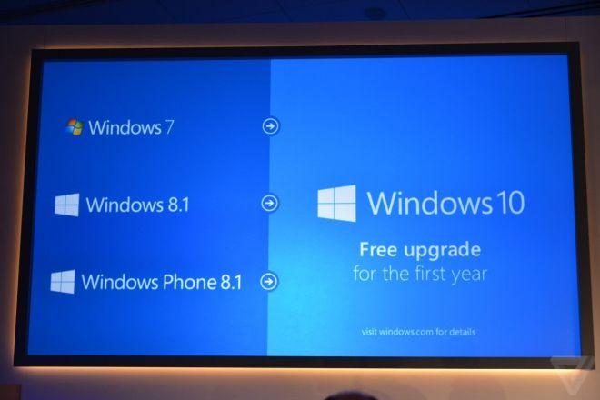 A-Tecno: Aggiornamento gratuito a Windows 10 per chi ha Windows 7, Windows 8.1 e WP 8.1