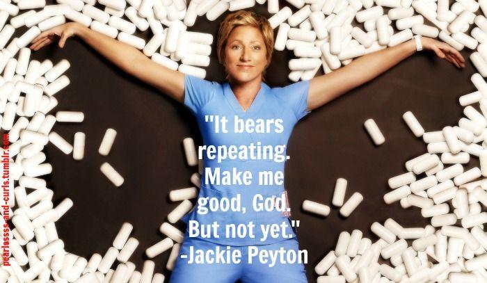 Nurse Jackie.  ain't it?