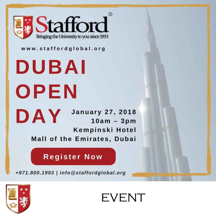 We offer different distance learning programmes for you to choose from that will give you the opportunity to complete your higher education and earn an UK degree from a Top-ranking institution.  On the 27th of January from 10 am to 3 pm, meet us at the Kempinski Hotel – Mall of Emirates, Dubai and bring a copy of your CV, Degree Certificate and Mark sheets and we will assess your eligibility to enrol with our internationally accredited university partners from the UK.   Register now for…