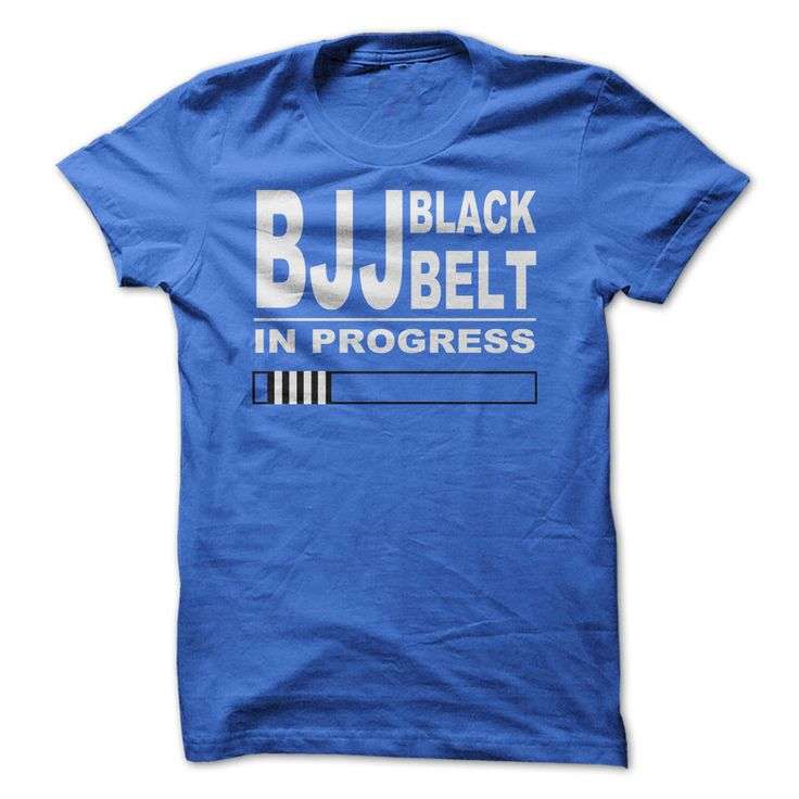 BJJ Black Belt In Progress T-Shirts, Hoodies. Check Price Now ==► https://www.sunfrog.com/Sports/BJJ-Black-Belt-In-Progress-V2.html?id=41382