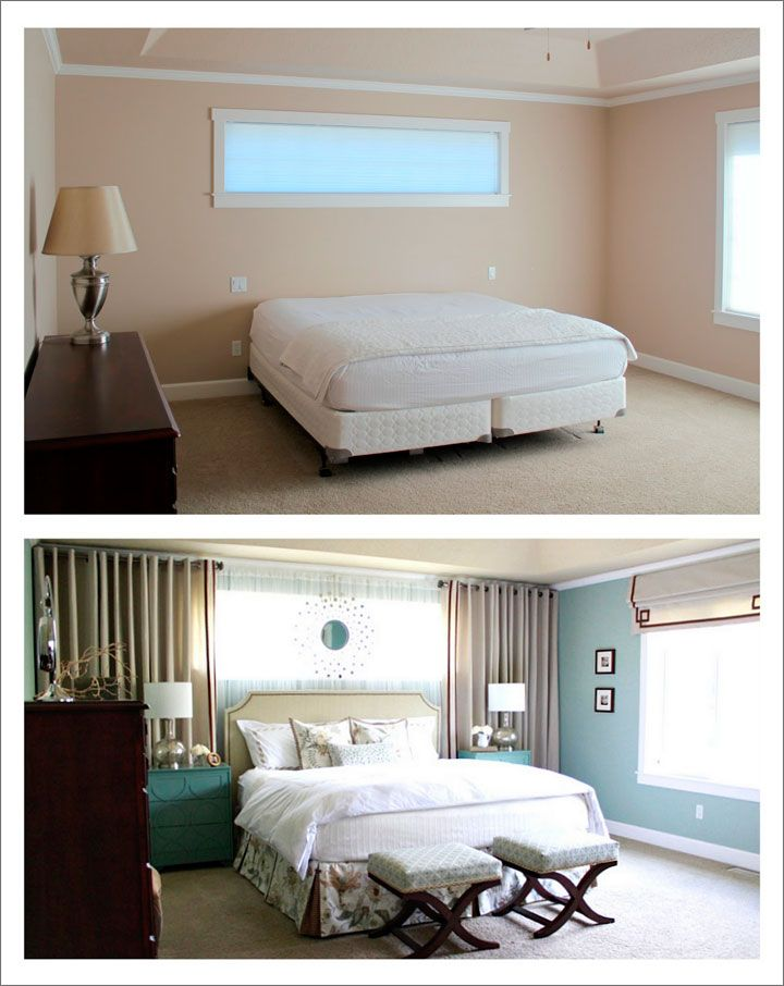 Cortinas para dormitorio con ventanas pequeñas