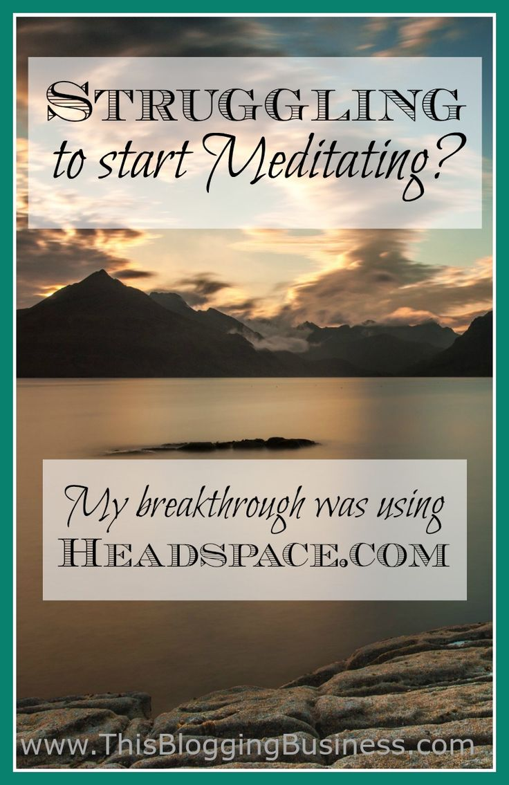 Meditation using headspace.com or the headspace app. This is my review of the headspace site (or you can use the app if you prefer) where I go over how it's helped me in my practice of meditation. I've been meditating for about four months now, with three of those months using the headspace service. Headspace might be the right tool to help you in your meditation practice too.