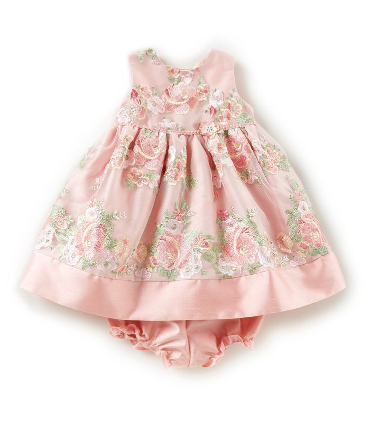 Laura Ashley London Baby Girls 1224 Months FloralEmbroidered Dress #Dillards