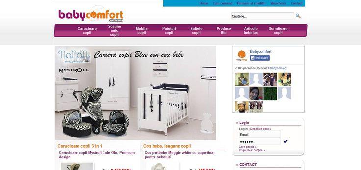 Găsește informații utile despre Magazin online babycomfort.ro, descriere, detalii contact, rating-uri. Lasă un rating despre Magazin online babycomfort.ro