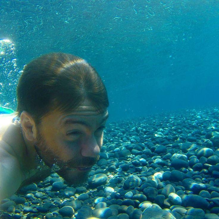 Μαύρα Βολια Χιος! happytraveller #chios #greece #underwater #mavravolia #travel #blackrocks #summer2016 #summeringreece #greekislands #visitgreece