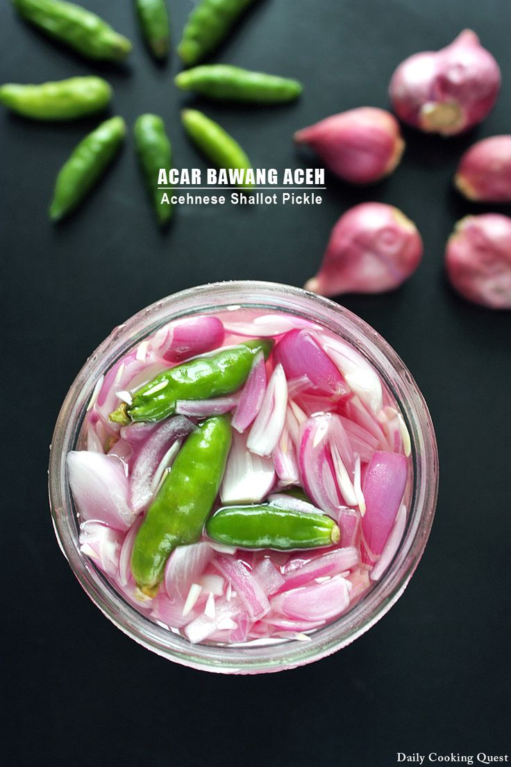My Mom was born in Aceh, so I am quite familiar with Acehnese food, and among my favorites are sate godok, mie Aceh, martabak, and of course acar bawang. The best thing about acar bawang is that it is so easy to make, and the next best thing is I …
