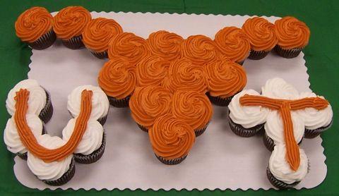 UT Cupcake Cake