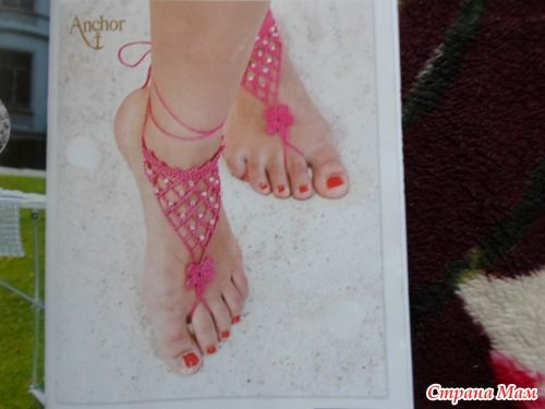 Девочки, понравились украшения для ног.
