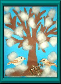 strom v zimě