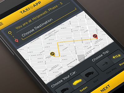 Android Taxi App Taxi App And App Design