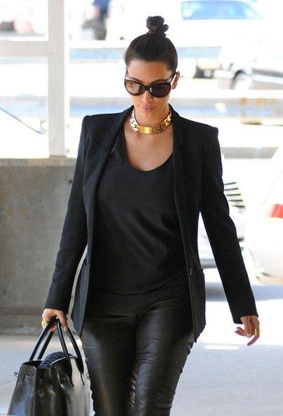 Traveling in Style ~ Kim Kardashian