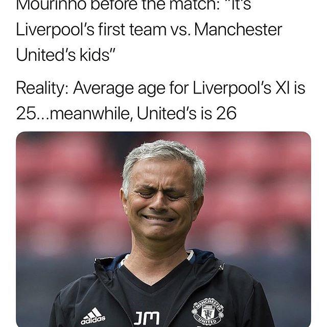 This Is Peak Mourinho Liverpool Team Football Memes Liverpool
