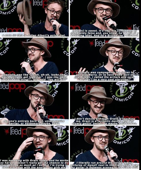 Tom Felton talks about The Flash at ECCC 2017 part 1