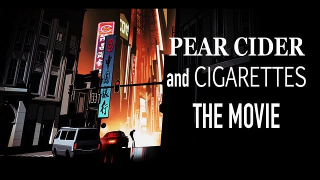 https://www.kickstarter.com/projects/395550245/pear-cider-and-cigarettes-the-animated-movie WENT LIVE TUEUSDAY JAN 19
