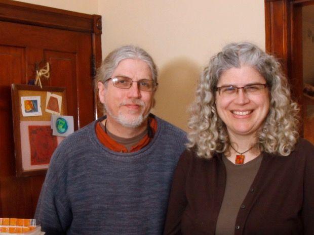 Wayne Stratz and Margaret Almon