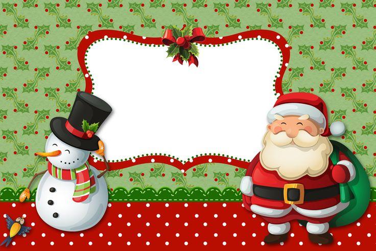 Natal Papai Noel e Boneco de Neve – - Kit Completo