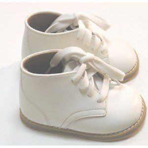 Childrens White Walking Shoes -                     Price:              View Available Sizes & Colors (Prices May Vary)        Buy It Now      Step & Stride Walker High-Top Shoes for Infants. The Walker shoe is a great shoe for infants learning to walk. This boot is a smooth top-grain white leather with a hard...