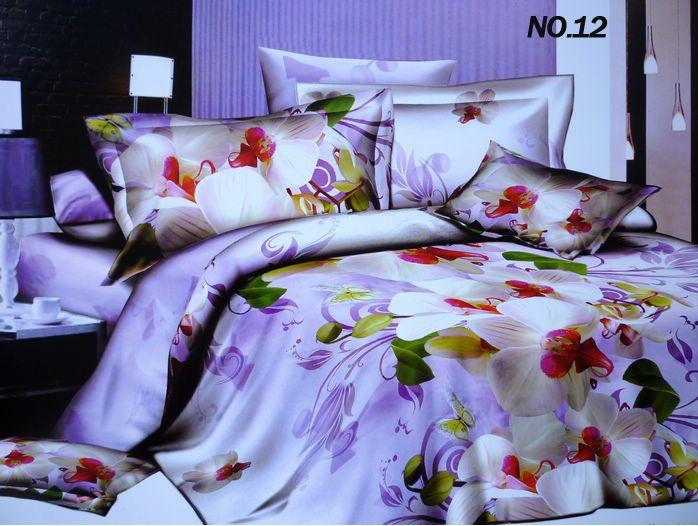 unique cheap 3d oil painting bedding set comforter set peacock bedding queen 4pc in bedding sets. Black Bedroom Furniture Sets. Home Design Ideas