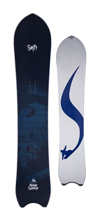 Never Summer Swift Snowboard - Men's Snowboards - Men's Snowboarding - Powder Snowboards - Winter 2015/2016 - Christy Sports