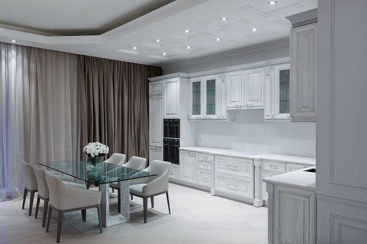 Гостиная комната. Современная классика - Лучшая гостиная | PINWIN - конкурсы для архитекторов, дизайнеров, декораторов