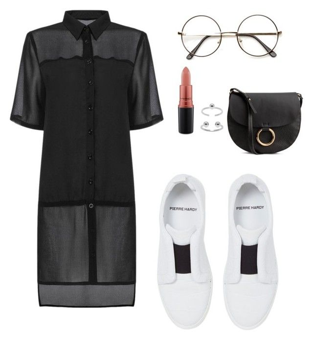 """Untitled #654"" by andre-amj ❤ liked on Polyvore featuring Pierre Hardy, MAC Cosmetics, Maria Francesca Pepe and H&M"
