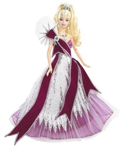 Barbie Collector Holiday 2005 Doll Designed by Bob Mackie Mattel http://www.amazon.com/dp/B0007WX1L6/ref=cm_sw_r_pi_dp_eNpOtb06XYV5PQ2C